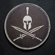 SPARTAN US ARMY USA MILITARY ISAF MORALE USA ISAF MILSPEC SWAT HOOK PATCH