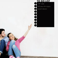Waterproof Removable Blackboard Chalkboard Wall To Do List Wall Sticker office