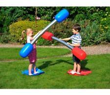 NUOVI Bambini o Adulti Gonfiabile all'aperto Gladiatore Gioco Set Divertimento Estivo