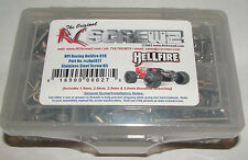 HPI HELLFIRE RTR RC SCREWZ SCREW SET STAINLESS STEEL HPI027
