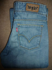 LEVIS 570 MENS JEANS STRAIGHT FIT W28 L34 MID BLUE LEVC012