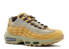 "NIKE AIR MAX '95 PRM 95 SIZE 10 ""WHEAT"" 538416 700 BRONZE/BAROQUE BROWN-BAMBOO"