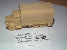 FRONTLINE WARGAMING BRITISH AUSTIN K6 HEAVY LORRY RESIN MODEL KIT - B4
