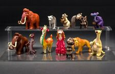 12pcs Ice Age 5 action figure Sid Eddie Ellie mini figurine doll toy cake topper