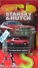 HOT WHEELS RETRO K EXCLUSIVE 76 FORD GRAN TORINO STARSKY & HUTCH BLACK FRIDAY