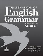 Fundamentals of English Grammar Workbook by Stacy A. Hagen, Azar and Betty Schr…