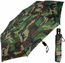 "42"" Camouflage Auto-Auto Mini Umbrella - RainStoppers Rain/Sun UV Fashion Camo"