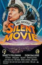 "Silent Movie movie poster - Mel Brooks - 11"" x 17"" inches - Comedy"