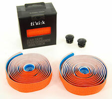 Fizik Road Bike Bar Tape PERFORMANCE Classic Smooth Microtex 3mm Orange