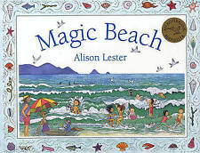 MAGIC BEACH by ALISON LESTER Children's Picture Story Reading Book
