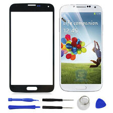 Front Outer touch Screen Glass Lens For Samsung Galaxy S4 i9500 i9505 i337 Black