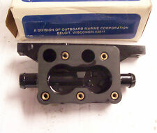 Thermostat housing for an old Johnson or Evinrude outboard motor V-4