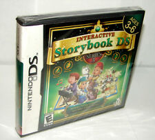 INTERACTIVE STORYBOOK DS: SERIES 3    (NINTENDO DS)  ***NEW SEALED***
