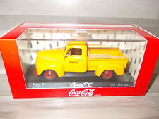 Minichamps 1/43 - Ford F1 Pickup - Coca-Cola - orange - Mint in  box