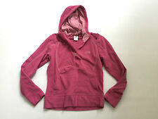 THE NORTH FACE Women's Fleece Purple M Hooded Zip Polyester Mint Condition