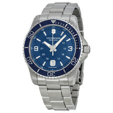 Victorinox Swiss Army Maverick GS Navy Dial Stainless Steel Mens Watch 241602