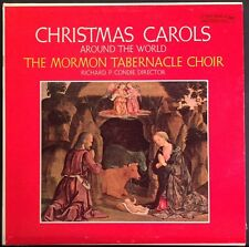 The Mormon Tabernacle Choir - Christmas Carols Around the World - VG++ Vinyl LP