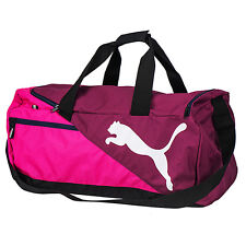 Puma 2016 Fundamental Sports Small Duffel Gym Bag Shoulder Purple 073499-09