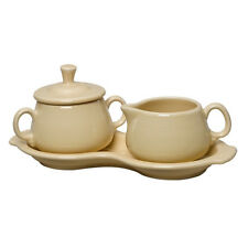 Fiestaware Sugar and Creamer Set in Ivory 1st quality Homer Laughlin Fiesta