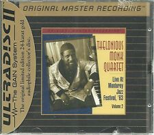 Monk, thelonious Live at the Monterey Jazz Festival,'63 vol.2 MFSL Gold CD NEUF