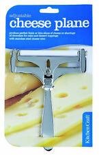 KITCHENCRAFT Stainless Steel Wire Adjustable Thickness Cheese Plane/Slicer/Shave