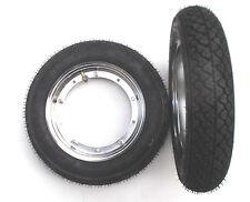 Vespa 50 N Special PK XL PV ET3 Reifen komplett Chrom Felge Michelin 3.00-10
