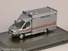 MERCEDES SPRINTER - Police - Explosives Disposal 1/76 scale model OXFORD DIECAST