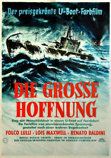 Die grosse Hoffnung ORIGINAL A1 Kinoplakat Lois Maxwell /  POSTER-ART: Williams