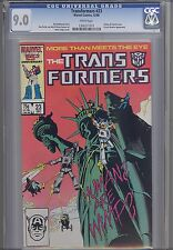 Transformers #23 CGC 9.0 Marvel 1986 Comic Statue of Liberty Cover
