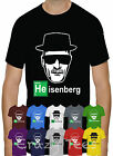HEISENBERG BREAKING BAD LOS POLLOS HERMANOS WALTER WHITE T-SHIRT TOP TEE