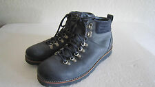 MENS UGG AUSTRALIA CAPULIN NAVY BLUE LEATHER BOOTS SZ 12  1001584 *RARE*