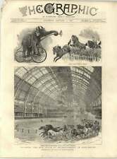 1887 Elephant Riding Tricycle Riding 30 Horses Bareback