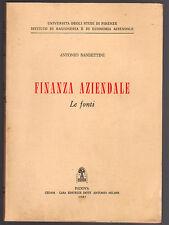 FINANZA AZIENDALE di Antonio Bandettini