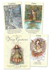 FAERY GUIDANCE ORACLE KIT Boxed Fairy Tarot Deck Card & Book Set Paulina Cassidy