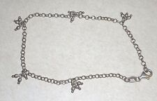 Sterling silver 925 anklet  Italy