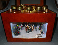 Gold Label Collection (Mr. Christmas) Music Box: Grand Animated Concertina