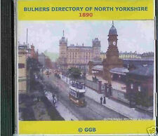 Genealogía directorio de North Yorkshire 1890 Cd Rom