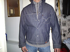 MENS OLD RIVET DENIM JACKET SIZE L. BNWTS.