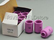 13N13 #10 TIG Alumina Nozzle Ceramic Cup Fit PTA SR DB WP-9 20 25 TIG Torch 10PK