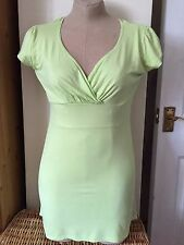 used jane norman green top size 12