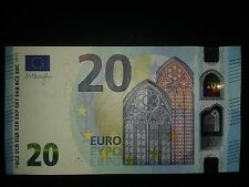N27 Europe GERMANY 20 Euro 2015, XA-serie UNC, DRAGHI Sign, Printer X001