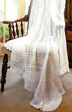 Baby Shawl Knitting Pattern DK  4ply & 3ply Double Knitting  365