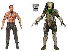 "NECA Predatore ""BATTAGLIA FINALE"" 2 Pack Set-Dutch Schaefer V Jungle Hunter Figura"