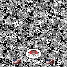 "Digital Snow CAMO DECAL 3M WRAP VINYL 52""x15"" TRUCK PRINT REAL CAMOUFLAGE"