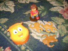 NEW Go Diego Go cake decorating cake topper lot Bobo Brothers Jaguar Backpack