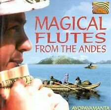Ayopayamanta-Magical Flutes From The Andes: CD NEW