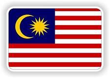 """Autocollant Drapeau Malaisie 2,8 x4 """"Voiture Pare-chocs Autocollant Réfrigérateur TABLETTE PORTE vélo camion Livre"""