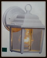 WHITE Outdoor Exterior Wall Lantern Light Fixture JW Lighting 120V 5 1/4""