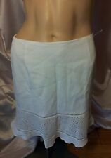 KENZO PARIS SZ.42 WHITE SKIRT MADE IN FRANCE