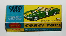 Reprobox corgi toys nº 319-Lotus Elan Coupe